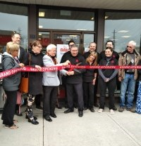 Grand opening of the brick in downtown gravenhurst