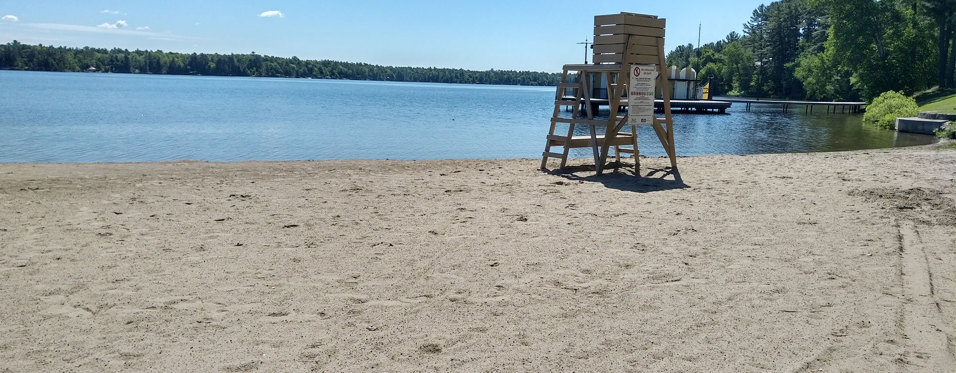 Gull Lake Park, Beach, Swimming area