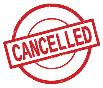Program Cancellation