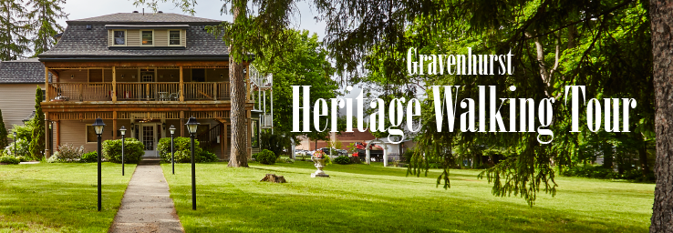 Banner image for the Heritage Walking Tour showcasing the exterior of the Rosehurst House