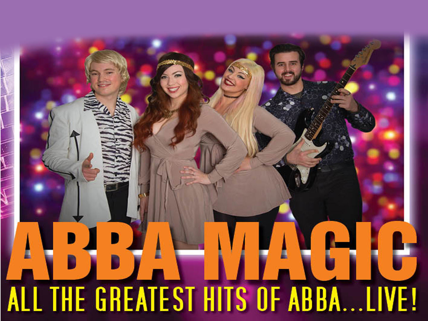 Promotional image for Abba Magic