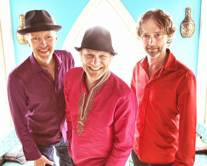 Promotional photo of the Sultans of String