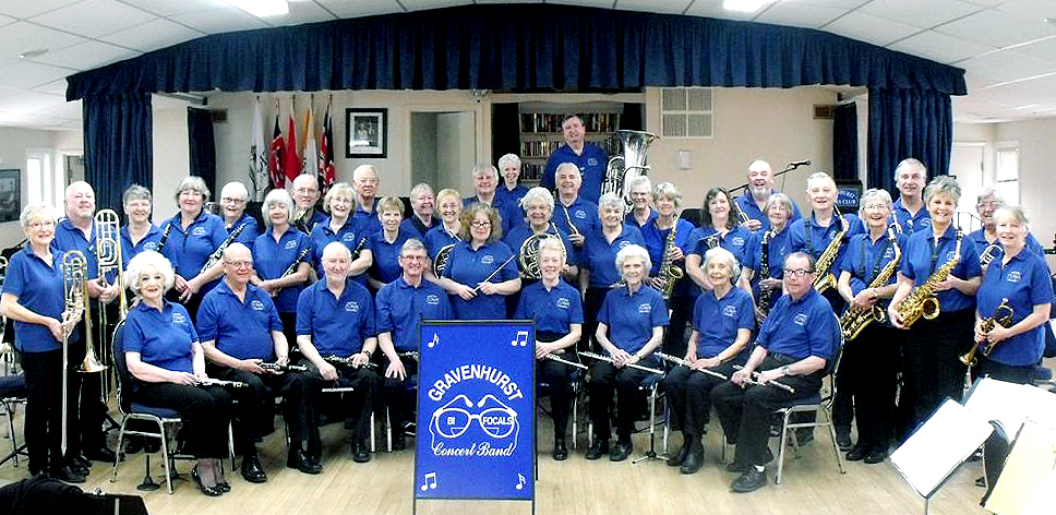 Promotional Photo of the Bifocals Concert Band