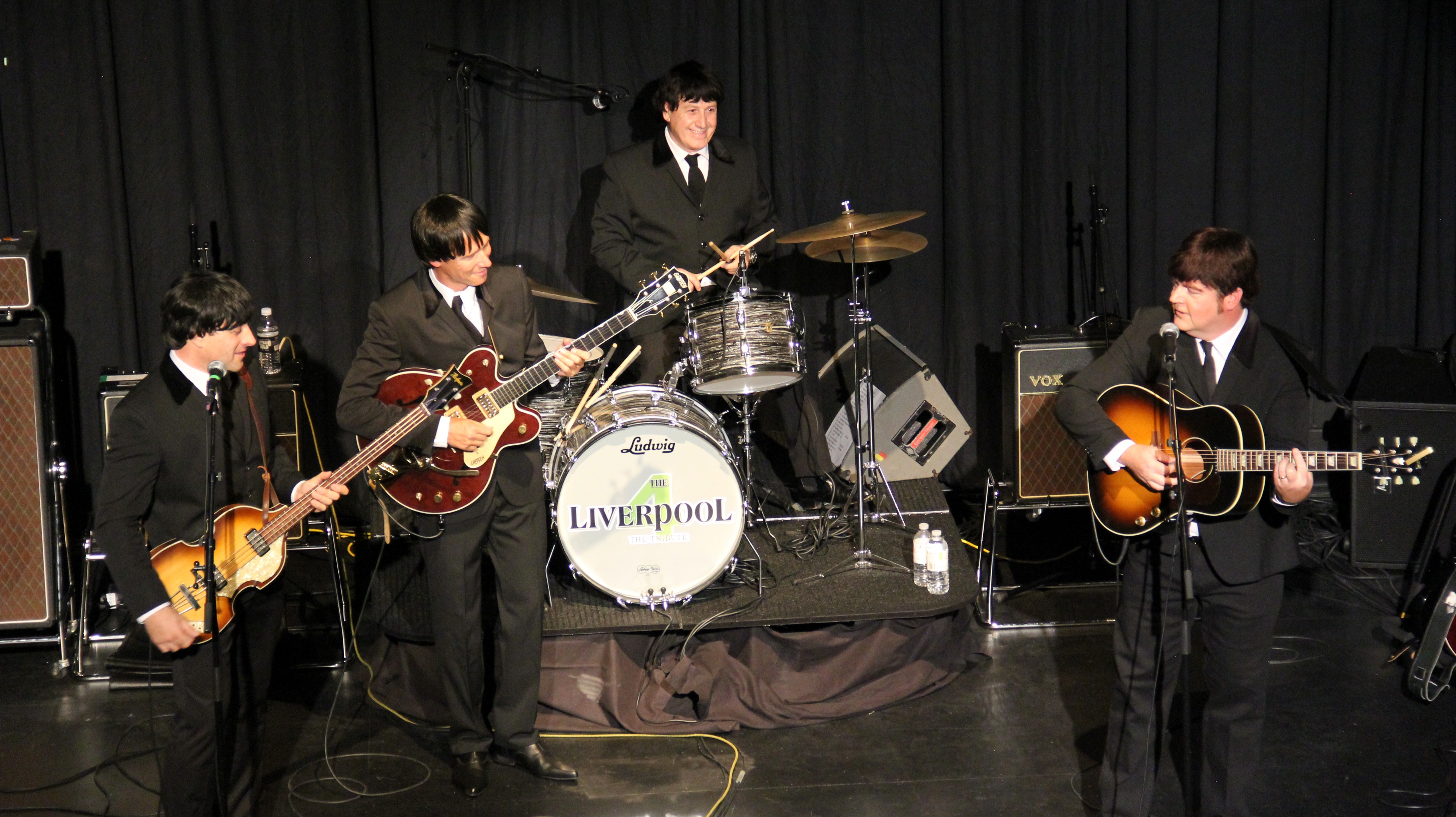 Promotional photo of The Liverpool 4