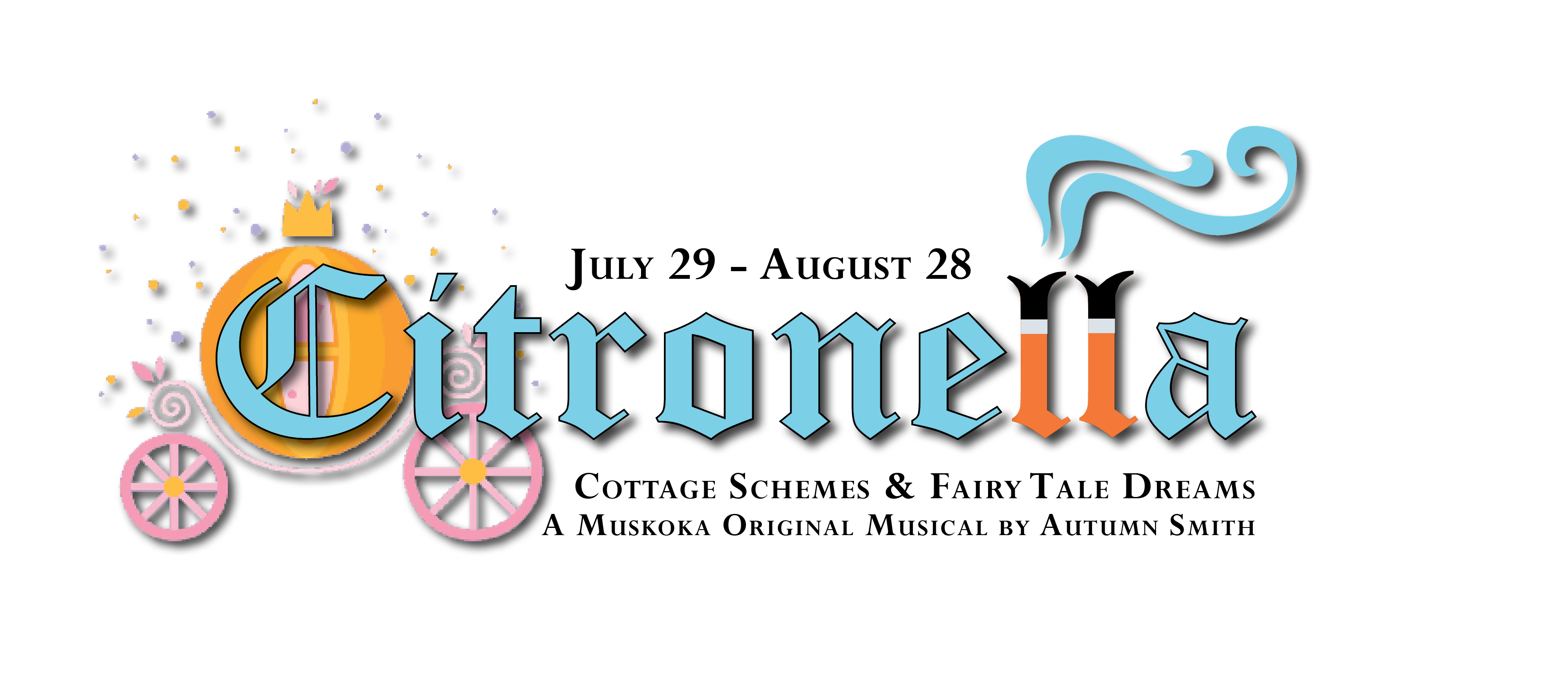 Promotional image fort he upcoming Citronella The Musical production