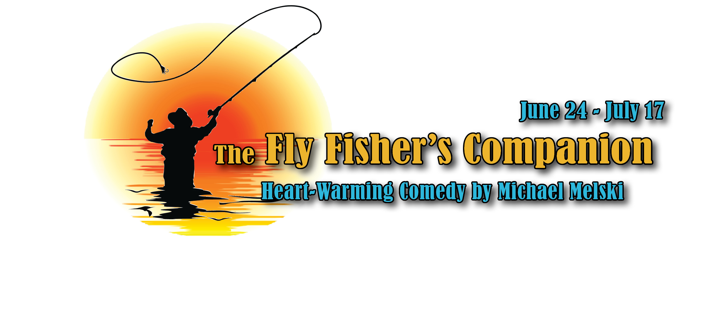 Promotional image for the upcoming production of The Fly Fisher's Companion