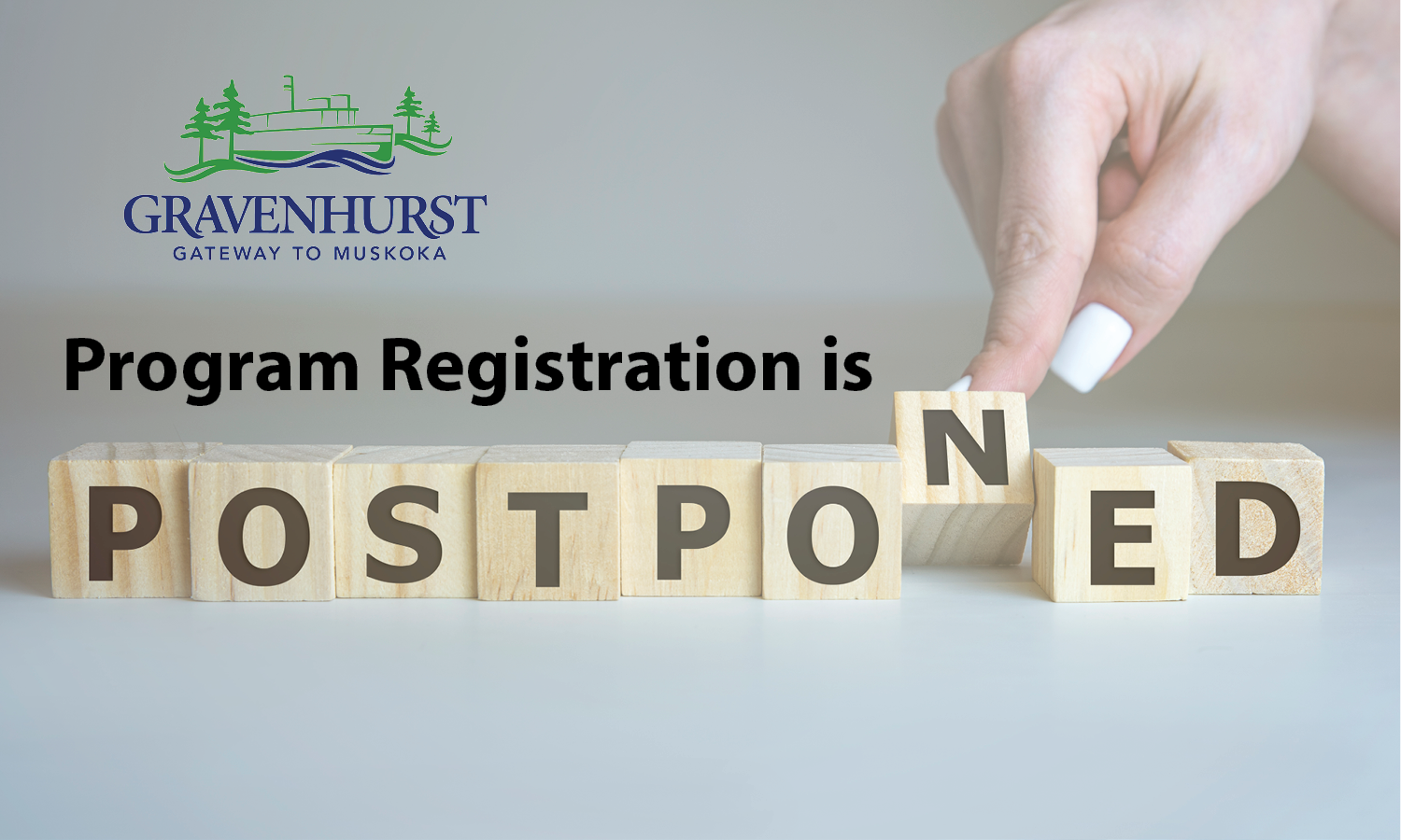 Registration Postponed photo
