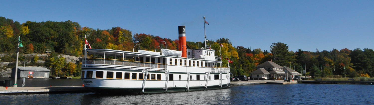 Segwun Steamship at Lake Muskoka