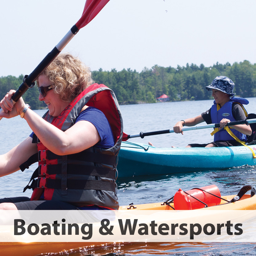 Boating and Watersports category