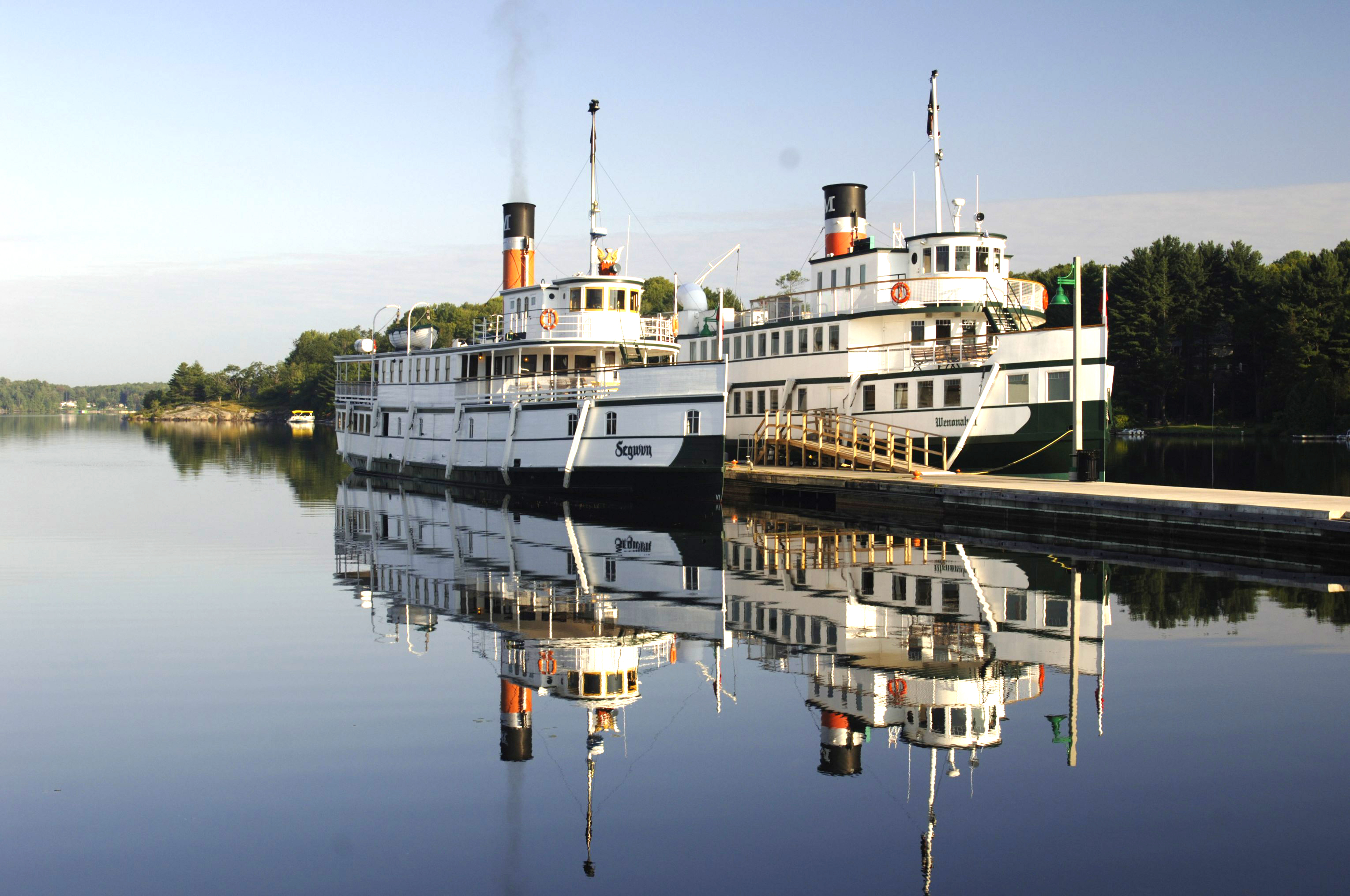 Photo of the Muskoka Steamships