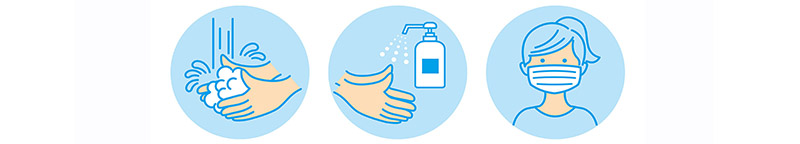 Help Flatten the Curve! - Practice Good Hand Hygiene and Wear a Mask