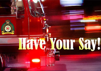 Have Your Say on Fire Services in Gravenhurst