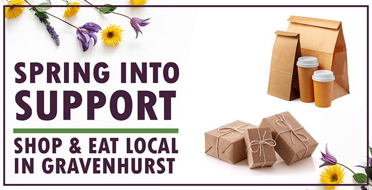 Spring into Supporting Gravenhurst Businesses