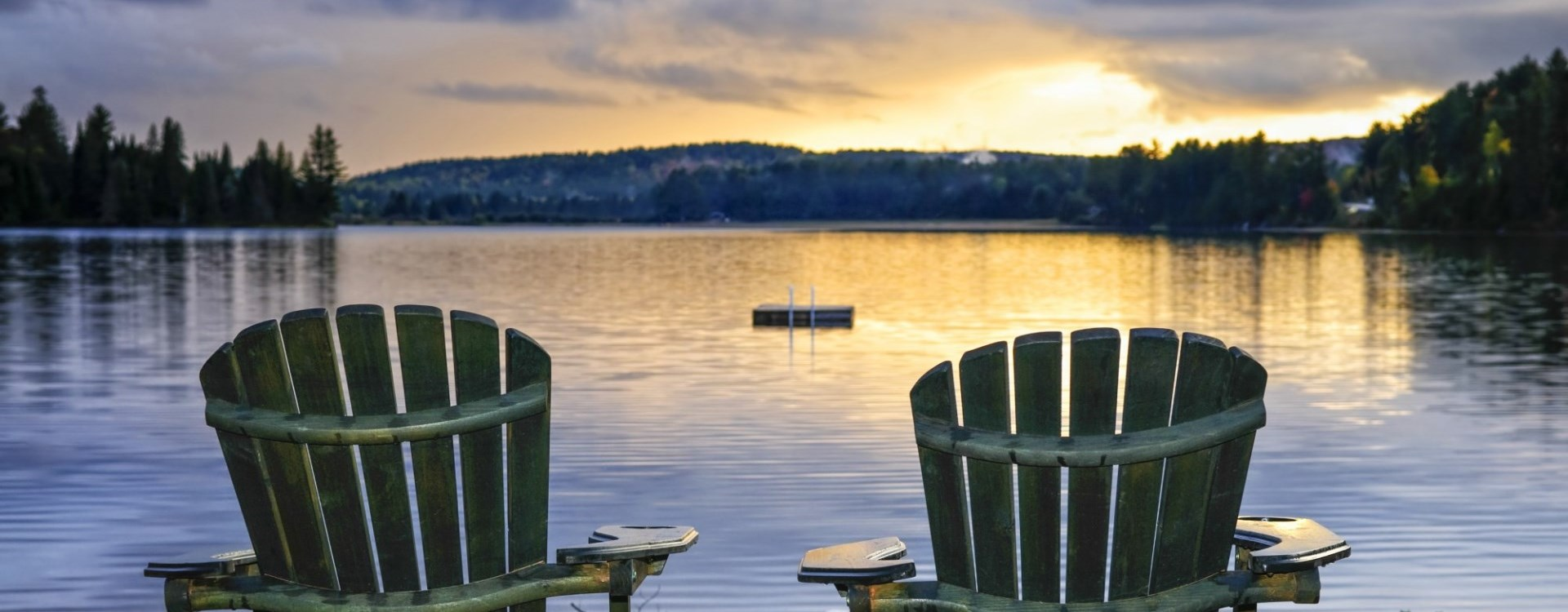Muskoka Chairs lakeside